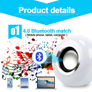 Image 4 - Smart E27 RGB Bluetooth Speaker LED Bulb Light 12W Music Playing Dimmable Wireless Led Lamp with 24 Keys Remote Control