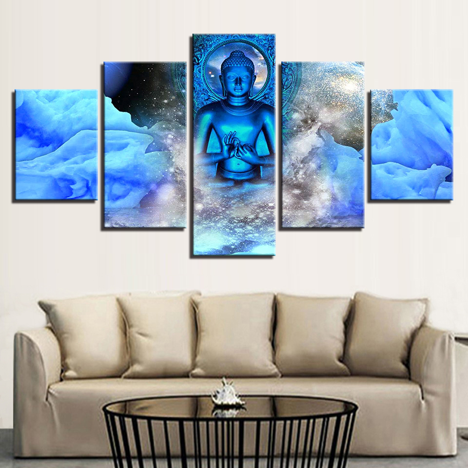 Living Room Canvas Hd Print Painting Modular Pictures 5