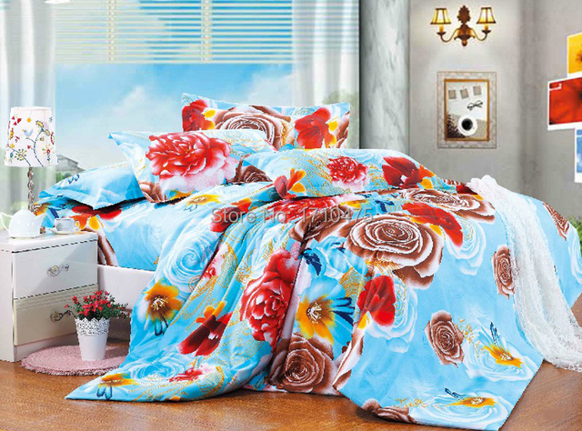 Perfect Best Selling Chinese Supplier Cheap Wholesale Price Flower Jacquard Custom  Printed Bed Sheet Designs Embroidery Bedding