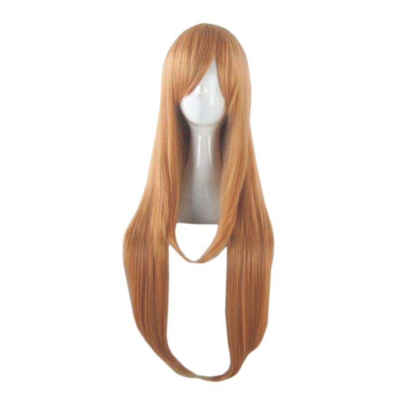 Anime Sword Art Online Yuuki Asuna Long Wig Cosplay Costume SAO Yuki Asuna Women Hair Halloween Party Wigs