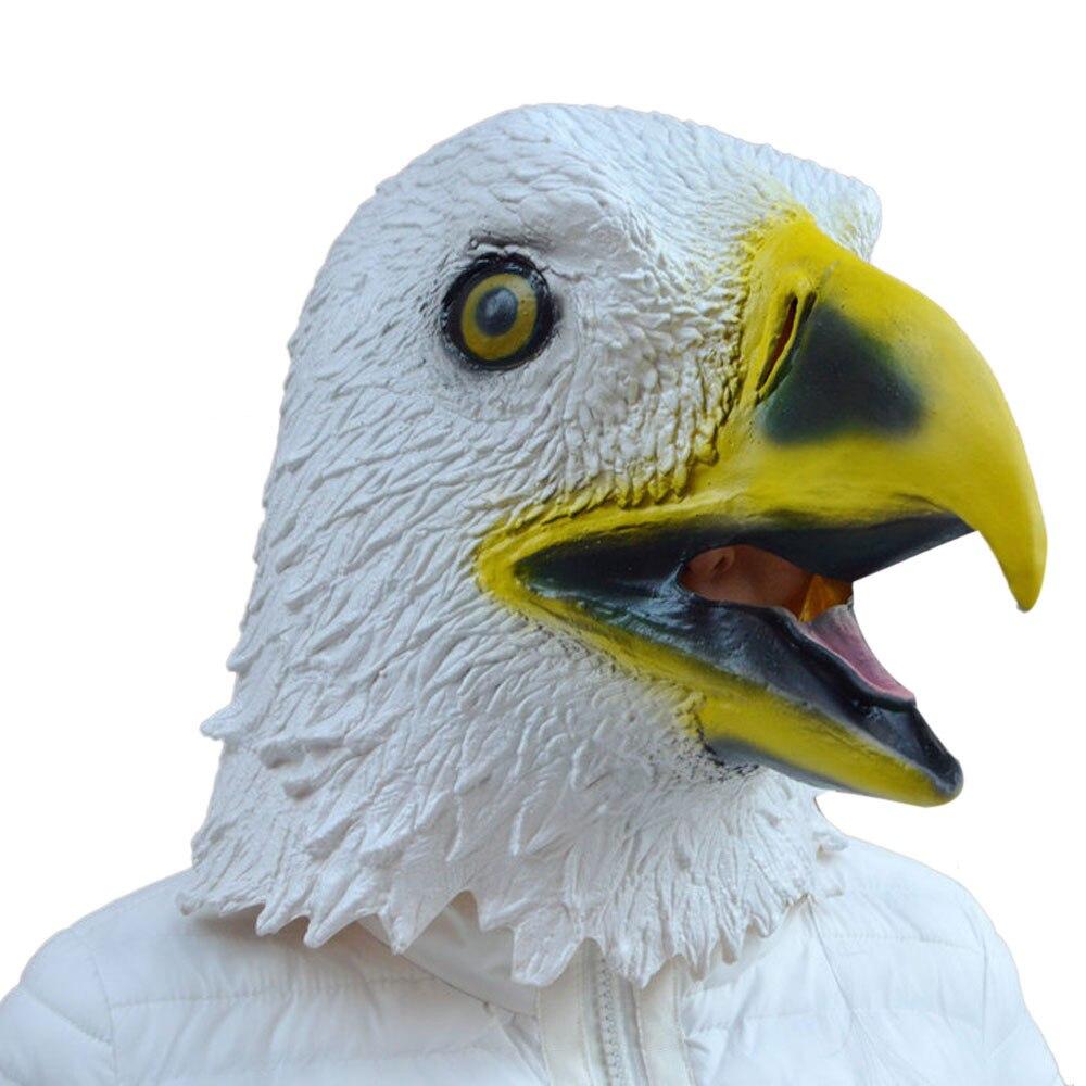 2017 masquerade masks eagle mask latex animal costume prop halloween