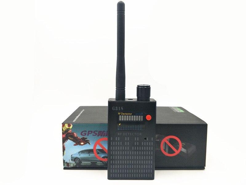 купить Super G318 portable Anti-Spy Amplification signal detector spy bug wireless Detector WIFI finder по цене 2836.27 рублей