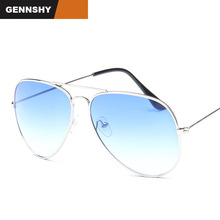 Fashion Pilot Sunglasses Men Vintage Brand Design S
