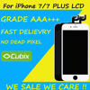 5PCS Grade AAA LCD No Dead Pixel Display For Apple IPhone 7 Plus 5 5 LCD