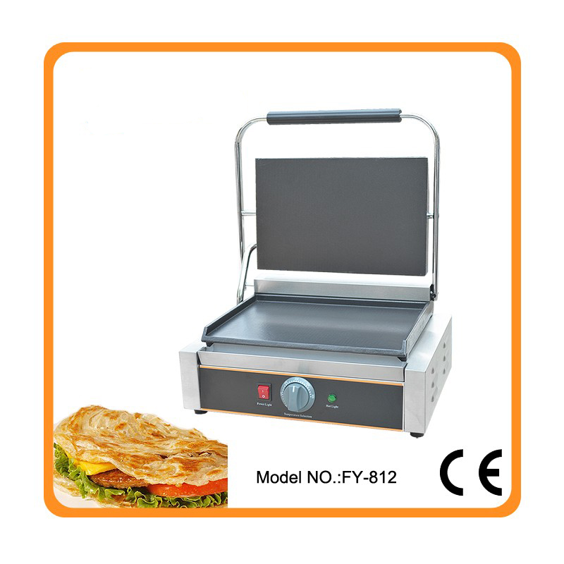 Restaurant equipment for sale commercial Thermostat electric cast iron griddle machine/commercial electric contact grill туда без обратно