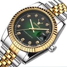 Đồng hồ Nữ Sang Trọng Thương Hiệu Xem MENS Quartz Đồng Hồ Đeo Tay Thời Trang Thể Thao Thép Đầy Đủ Dive 30 m Thường Watch relogio feminino