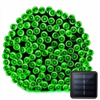 Halloween Lights 72ft 22m 200 LED 8 Modes Solar String Lights For Outdoor Indoor Gardens Party