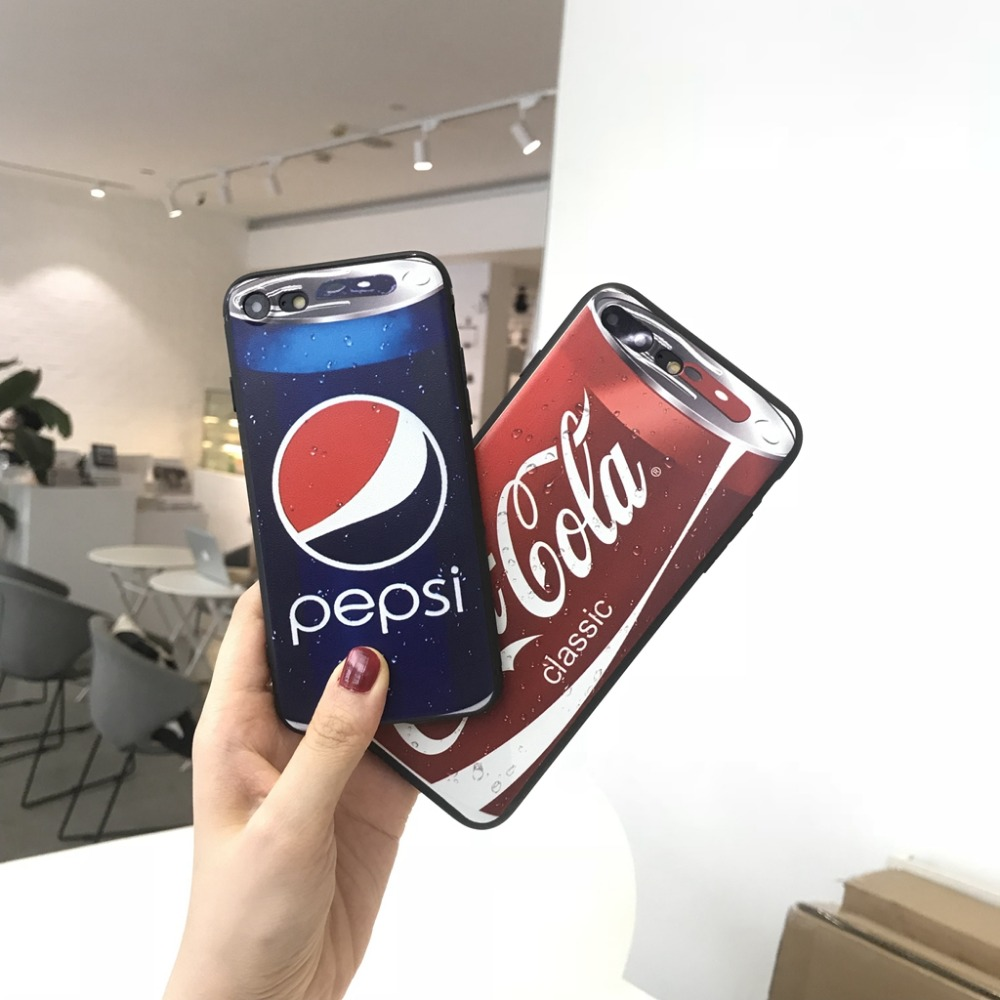 MA The Cola Phone Case For Huawei P8 lite 2017 P9 P10 P20 Lite Plus Nova Honor 6C 6A 6X Honor 8 Honor 9 Mate 10 lite