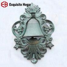 Европейские изделия из железа Ретро ананас логотип колокольчик внутренний двор домашнего интерьера настенные ручки