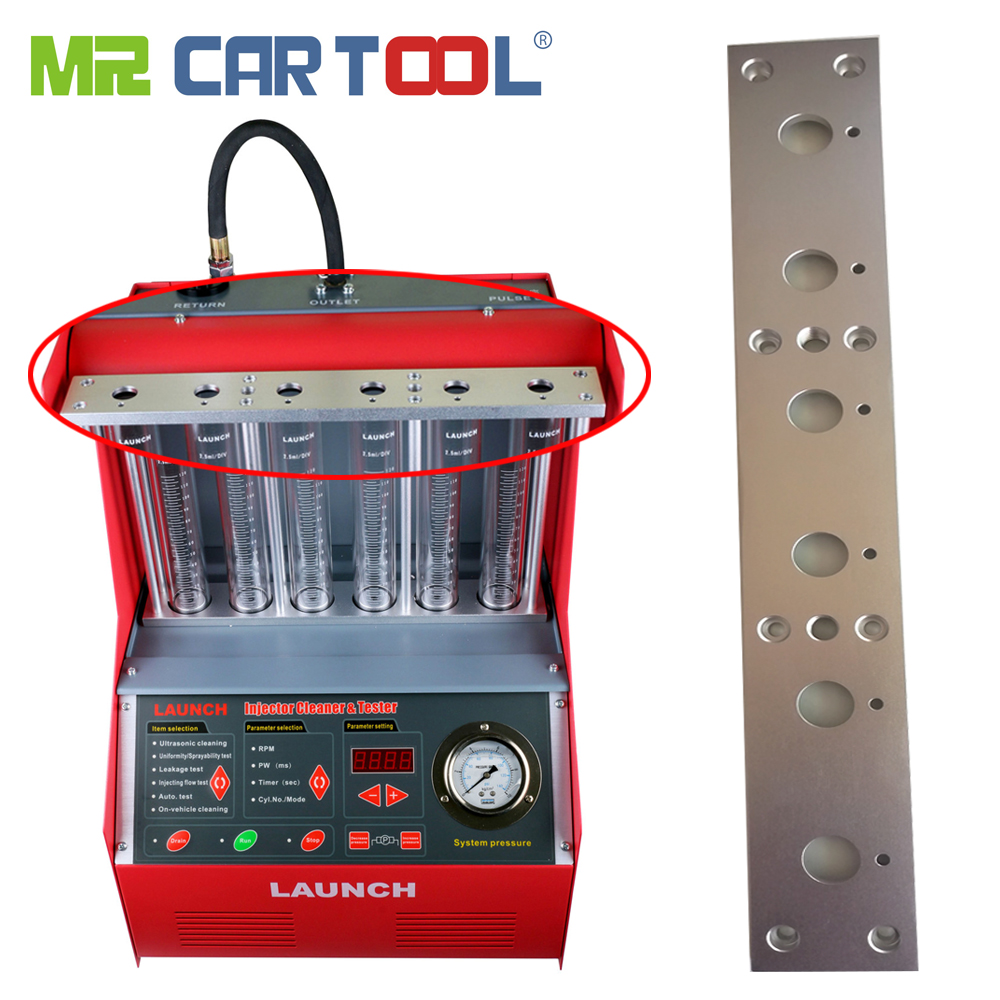 Mr Cartool 6 Cylinder Fuel Injector Cleaning Oil Supply Auxiliary Support Kits For Launch CNC602A