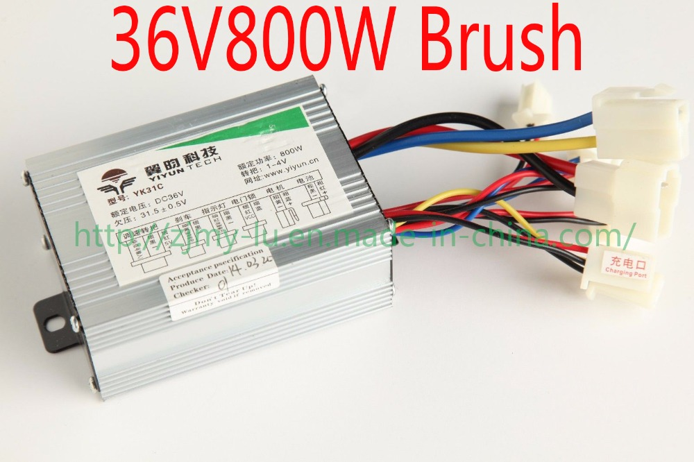 Brushless Controller 48v450w Electric Scooter E-bike 23a With Hall Sensor Speed Shift Reverse Burgurlar Alarm Accessories Atv,rv,boat & Other Vehicle