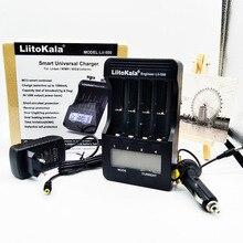 Original de Fábrica Liitokala Lii-500 Lcd 3.7 V e 1.2 V 18650 e 26650 e 16340 e 14500 e 10440 e 18500 Bateria Carregador 100% Lii500