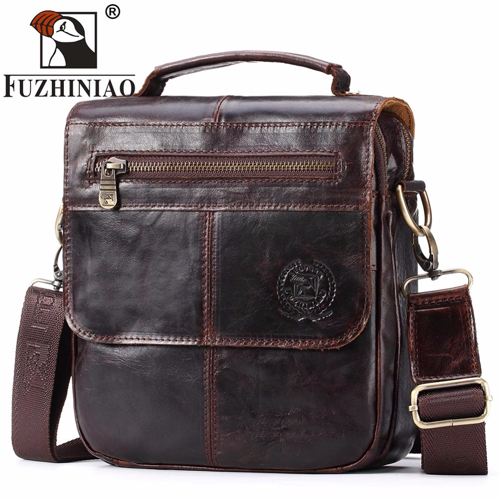 FUZHINIAO Top Sell Fashion Classic Solid Famous Brand Business Men Briefcase Genuine Leather Office Bag Casual Man Shoulder BagsFUZHINIAO Top Sell Fashion Classic Solid Famous Brand Business Men Briefcase Genuine Leather Office Bag Casual Man Shoulder Bags