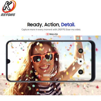 """New Samsung Galaxy A50 A505F-DS 4G Mobile Phone 6.4\"""" 4/6GB RAM 128GB ROM Exynos 9610 Octa Core Three Rear Camera Android Phone"""