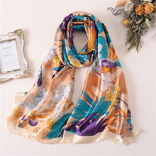 Hot sale 2019 women scarf print soft winter scarves silk shawls and wraps female pashmian bandana foulard chic flags and newspaper print soft bandana scarf for women