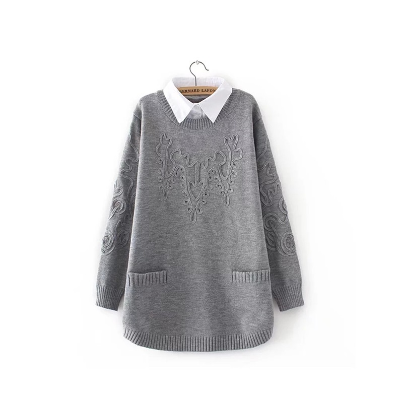 plus size high quality cashmere sweater, women sweater knit top sweater winter strong autumn female women oversized sweater charter club new blue sky women s medium m cable knit crewneck sweater $59 359