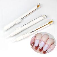 1 шт. ручка для ногтей с металлическим Бусина в виде икры для украшения дизайна ногтей 1 мм ручка для рисования Bullion золотые и серебряные со ст...