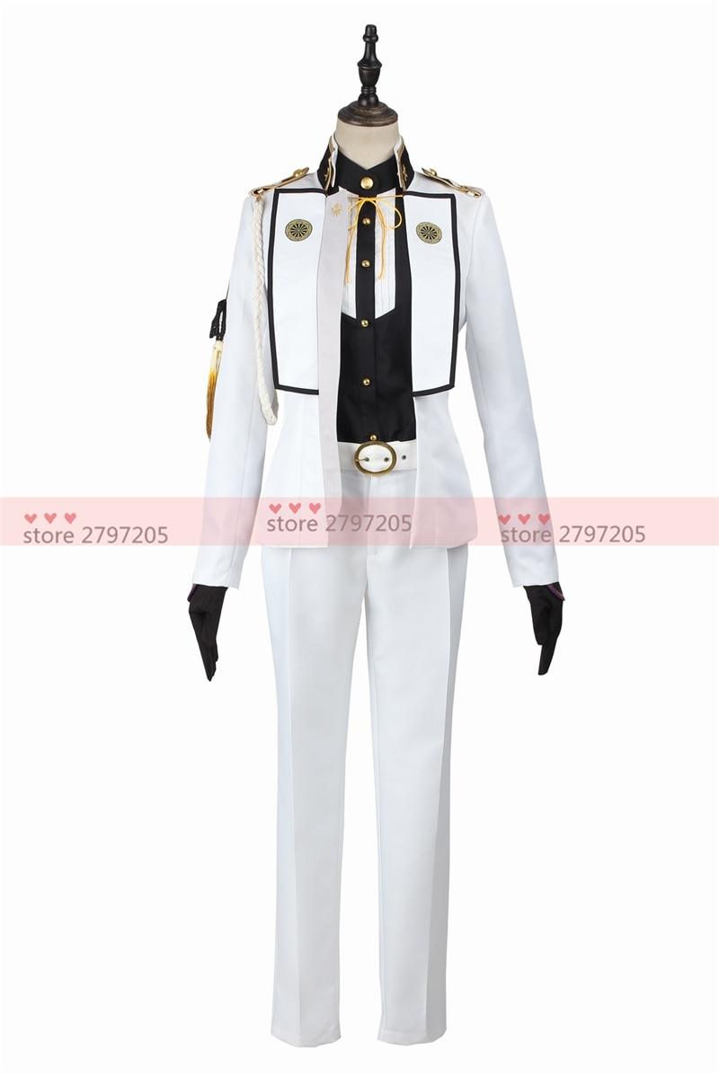 Touken Ranbu Online Higekiri cosplay costume Halloween uniform party dress free shipping custom made