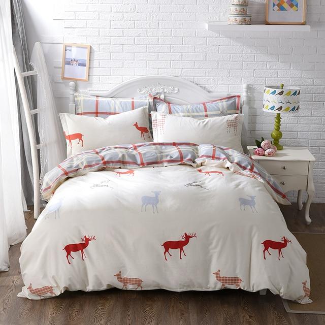 Algodón Ropa de cama conejo de Peter de la historieta 4 unids cama ...