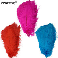 20 22 Inch 50 55 CM Frist Grade Ostrich Feather for DIY Jewelry Craft Making