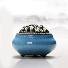 Керамические горелки для благовоний портативный фарфор кадило буддизм ладан держатель дома чайхана Йога Studio подарок украшения дома