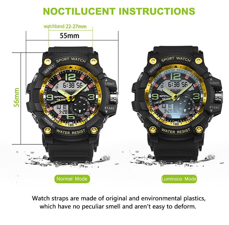 HTB1WMhwQVXXXXclXXXXq6xXFXXXb - 2017 SANDA Dual Display Watch Men G Style Waterproof LED Sports Military Watches Shock Men's Analog Quartz Digital Wristwatches