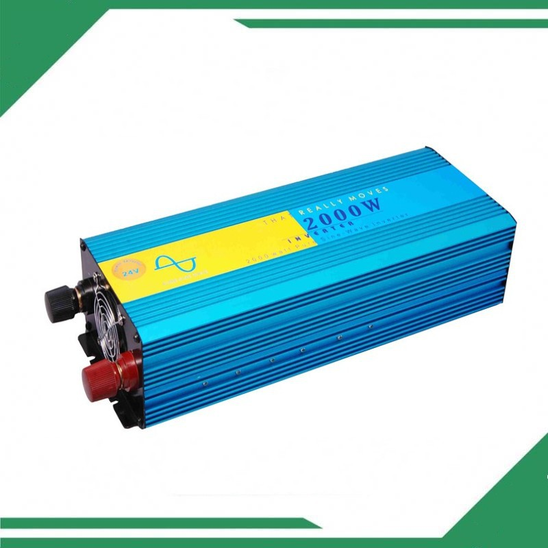 цена на 2000 watt 2000W Pure Sine Wave Power Inverter  DC 12V TO AC 220V - 240V, 4000 4000W peak power