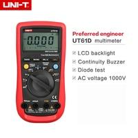 UNI T UT 61D Modern Digital Multimeters UT61D AC DC 6000 counts DMM Meter