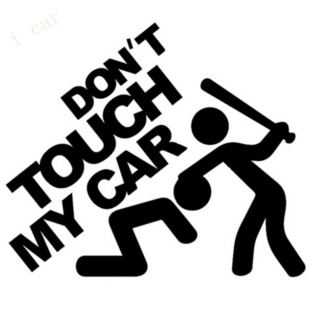 Aliexpresscom  Buy Warning Car Stickers  Dont Touch My Car - Vinyl decals for my car