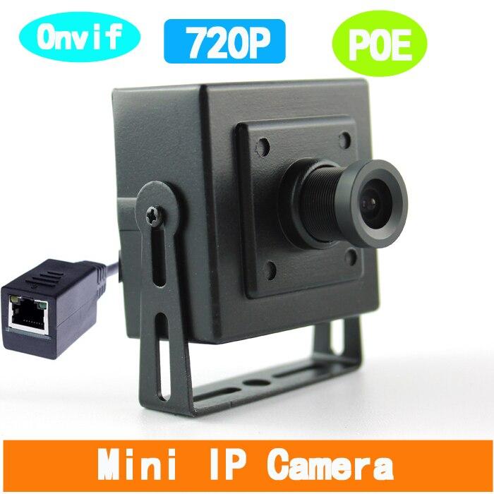 bilder für 1280*720 P HD 1.0MP Mini POE Ip-kamera 3,6mm 1080 P Objektiv Unterstützung P2P Smartphone-ansicht