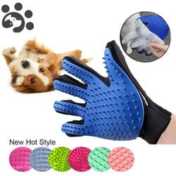 Guante de aseo para gatos, pincel para descascarillar mascotas, guantes para el pelo de perros y gatos