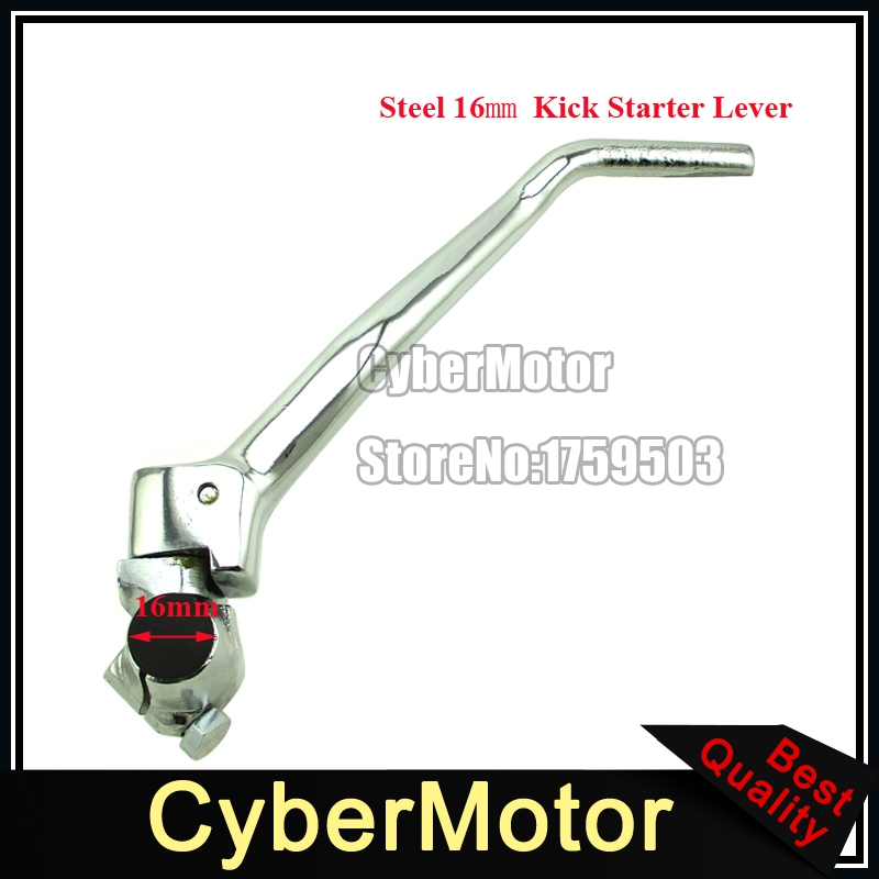 STONEDER stipris plieno 16 mm Kick starteris svertas 140cc 150cc 160cc 200cc 250cc