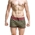 2PCS/LOT Man Bathing Striped Beach Pull In Underwear Men Sexy Swimwear beach Shorts Swimsuit Men's beach Trunks 1621302-2