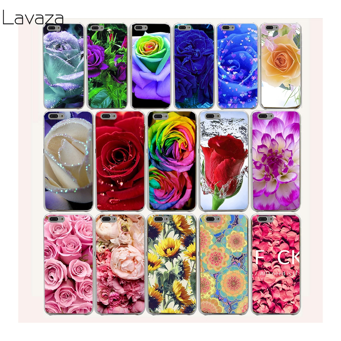 Aliexpress Buy Lavaza 4af Pretty Flowers Red Rose Hard Plastic