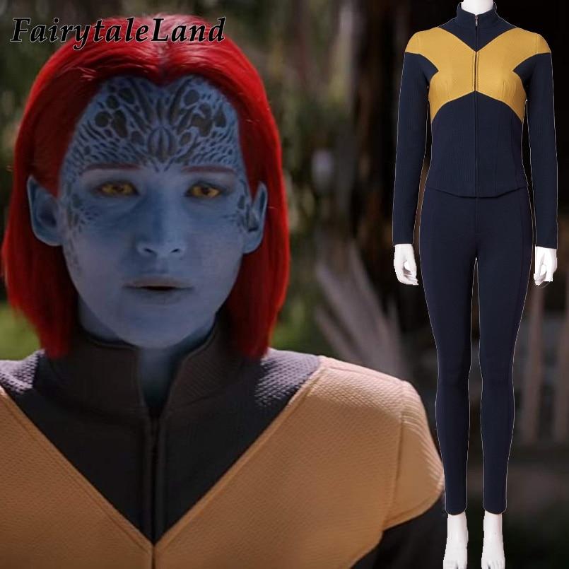 New Mystique Costume Halloween Costumes Superhero X Men Dark Phoenix Storm Outfit Fancy Uniform Custom Made
