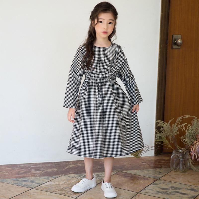 Aliexpress Com Long Cotton Clothes For Children Girls Fall Dress