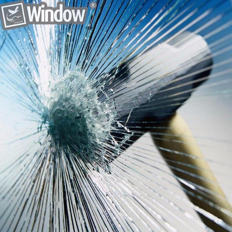 SUNICE самоклеящаяся 0,05 мм/2mil Защитная пленка для окон, прозрачное стекло, Защитная пленка для окна, кухонная пленка для дома 1,83*20 м - 4