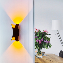 Waterproof IP65 LED Wall Lights for home Lighting Aluminum Wall-mount Luminary AC 85-265V for Outdoor Indoor Kitchen Aisle Lamp indoor led wall lamp ac 85 265v 9w triangle garden lights ip54 waterproof outdoor balcony aisle night light for home decoration