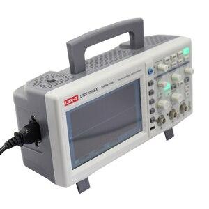 Image 4 - UNI T UTD2102CEX التخزين الرقمي الذبذبات 2CH 100MHZ Scopemeter نطاق متر 7 بوصة عريضة LCD يعرض