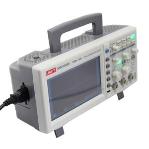 Image 4 - UNI T UTD2102CEX Digital Storage Oscilloscopes 2CH 100MHZ Scopemeter Scope meter 7 inches widescreen LCD displays