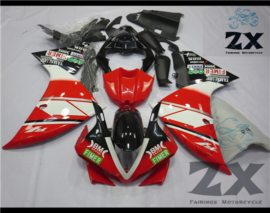 Complete Fairings For Yamaha yzf R1 2009 2010 2011 ABS Plastic Kit Injection Motorcycle Fairing 126