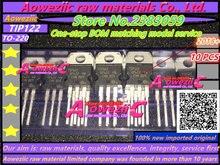 Aoweziic 2018 + 100% Новый оригинальный транзистор TIP122 TO 220 darlton 5A 100 в