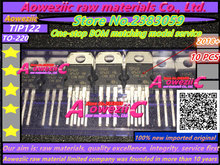 Aoweziic 2018 + 100% 신규 수입 원래 tip122 to 220 달링턴 트랜지스터 5a 100 v