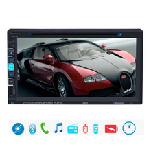6.9 inch Bluetooth Car Stereo In-Dash CD Player Radio Single 2 DIN HD Screen DVD Player In-dash Stereo Video Mic