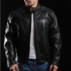 Free shipping brand clothing winter thick cool skull leather jackets men s genuine leather biker jacket.jpg 250x250