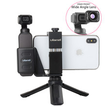 OSMO Pocket-soporte fijo para teléfono móvil, abrazadera con lente gran angular para DJI OSMO Pocket, envío directo
