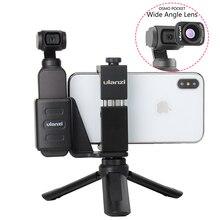 Osmo Pocket Handheld Telefoon Houder Beugel Vaste Stand Mobiele Houder Klem W Grote Groothoek Lens Voor Dji Osmo pocket Dropship