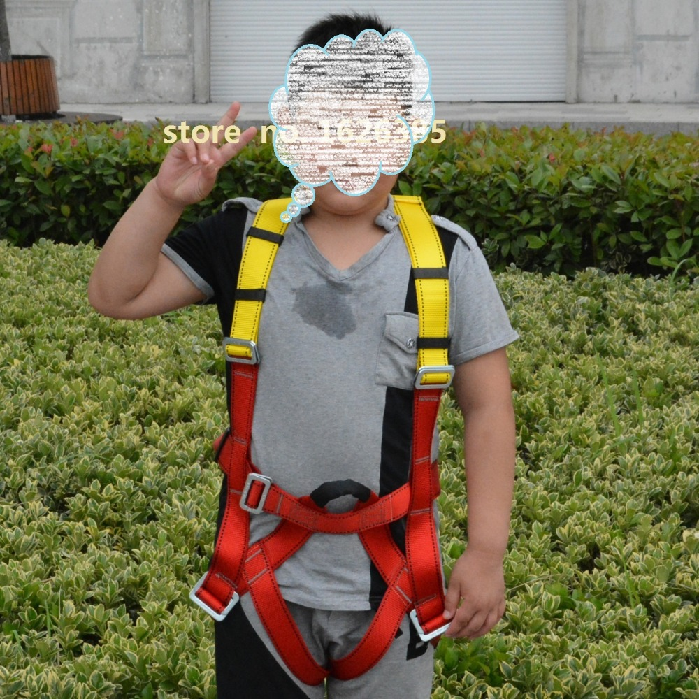 Child kid full body outdoor safety belt mountaineering