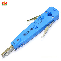110 Wire Cutter Knife Telecom Cable Pliers Krone LSA Punch Down Tool For Rj45 Keystone Jack Telephone Module Network Patch Panel