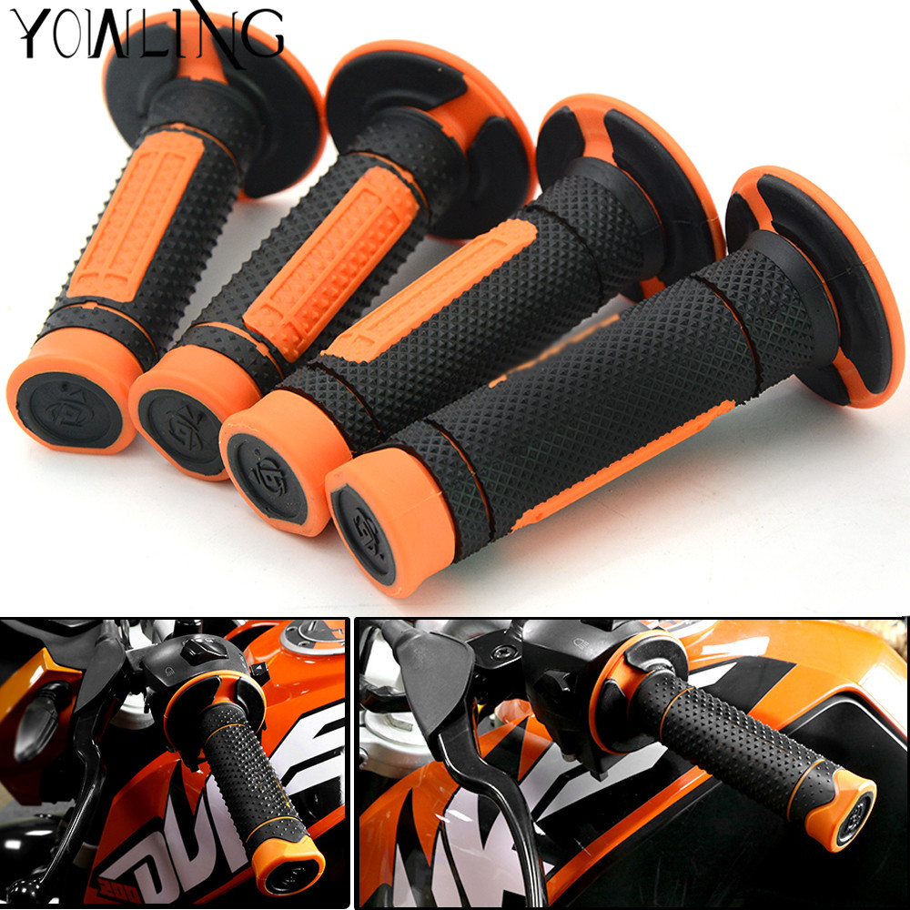 2 Pairs Handlebar Grips Hand Grips Handle Bar Grip Pit Dirt Bike For KTM EXC EXC XCW XCFW XC EXCR XCF Six Days 250 350 450 500